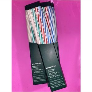 ✨ Starbucks 16 oz reusable straws ✨